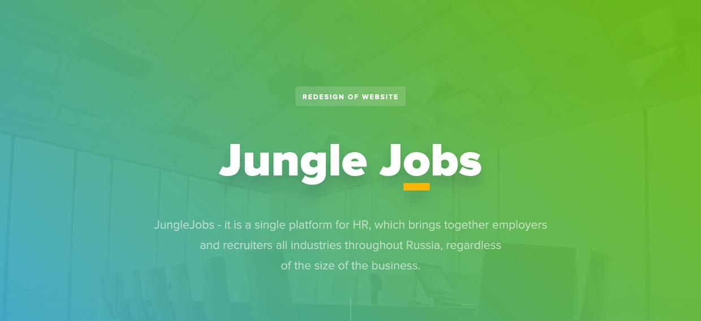 JungleJobs UI