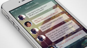 iPhone Chat App