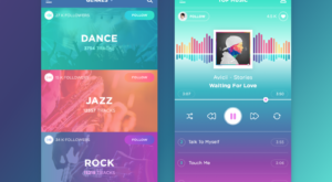 Music Player Inspiration